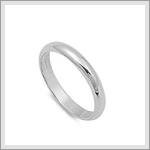 3mm Wedding Band Ring