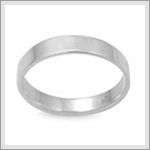 4mm Flat Band Ring