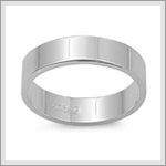 5mm Flat Band Ring