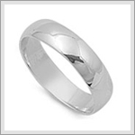 6mm Wedding Band Ring
