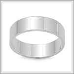 6 mm Flat Band Ring