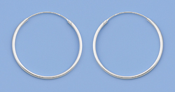 Continuous Hoop Earrings