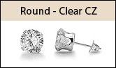 ROUND CLEAR cz