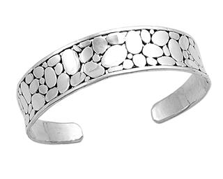 Carol's Silver Bangle Bracelet