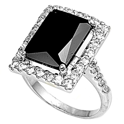 Janie&#039;s Black Onyx Ring