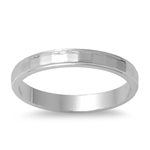 Dustin's Silver Ring - Diamond Cut Band -2.5 Mm