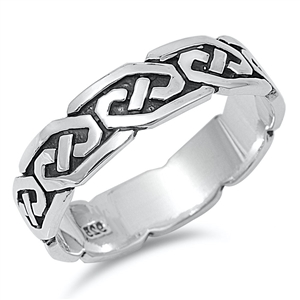 Silver Ring 714