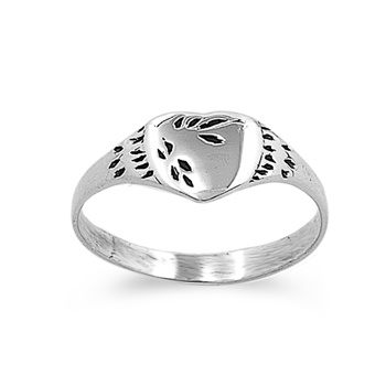 Debra's Silver Ring - Heart