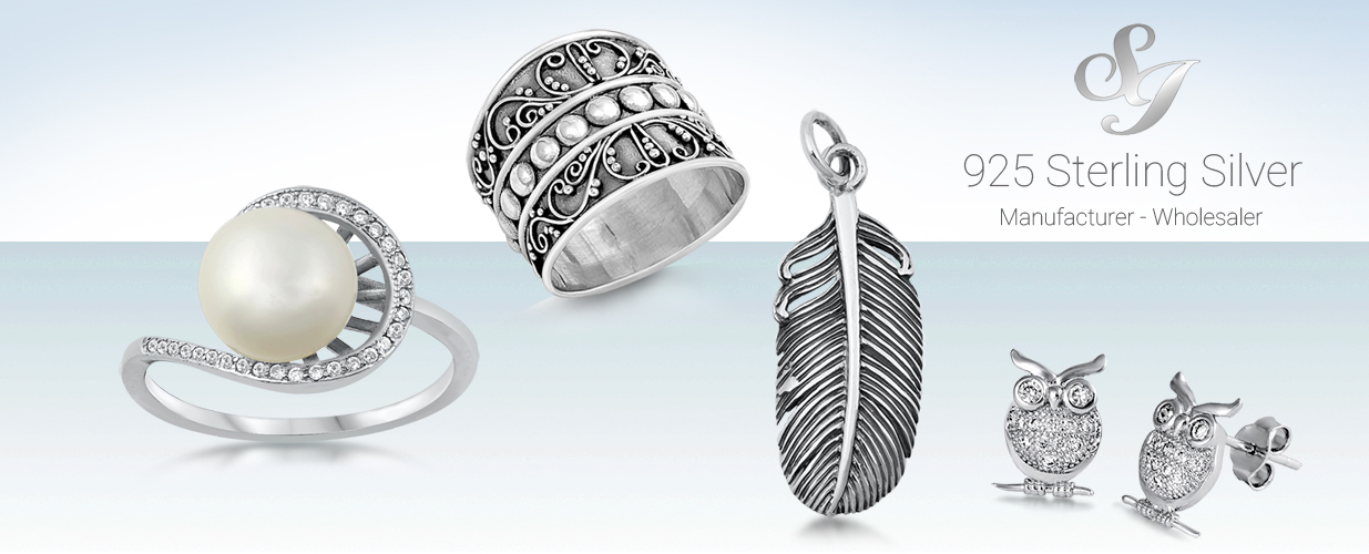 04a24f28e Wholesale Silver Jewelry Supplier of 925 Sterling Silver Rings, Earrings,  Bracelets, Necklace, and More!