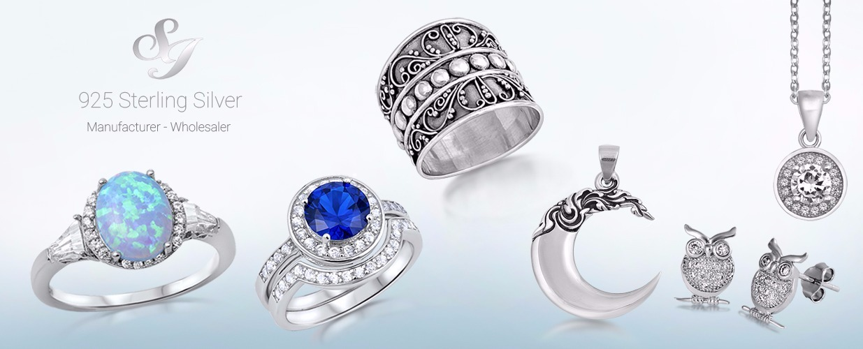 Wholesale silver jewelry supplier of 925 sterling silver rings welcome to sidneyimports we specialize in wholesale and distribution of sterling silver mozeypictures Image collections