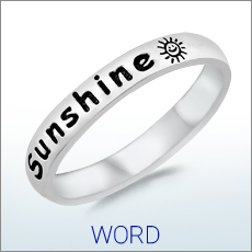 Ring with Words